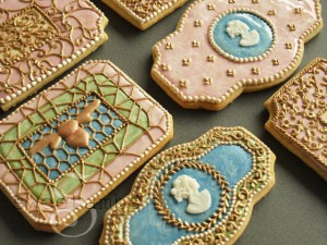 enamel cookies