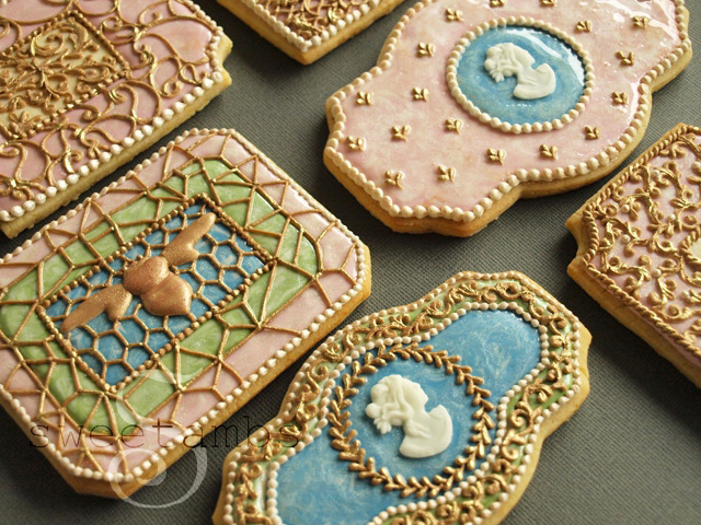 Enameled Cookie How To
