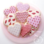 Sweet Ambs Valentine's Day Cookies