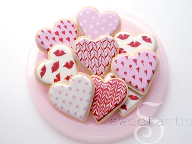 simple valentine's day cookiessweetambs, Ideas