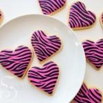 Zebra-cookies