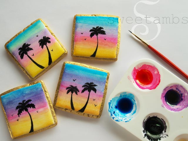 Hand Painted Cookies