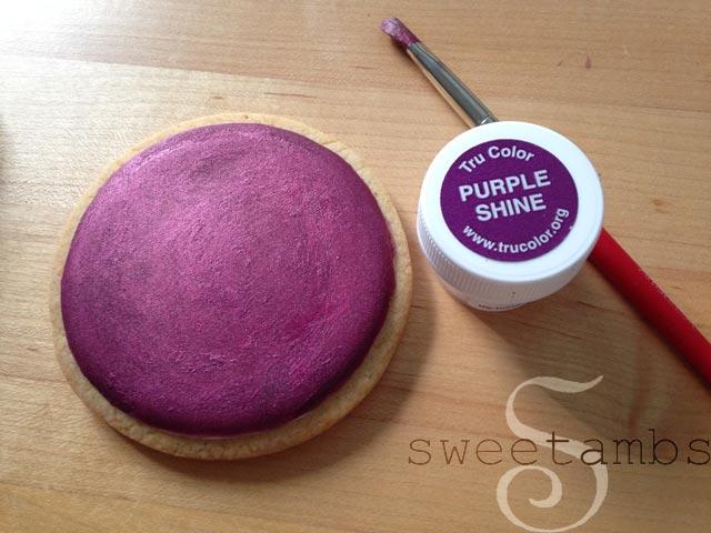 TruColor Natural Food Coloring - Painting on Royal IcingSweetAmbs
