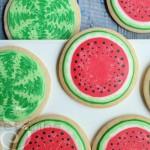 watermelon-cookies