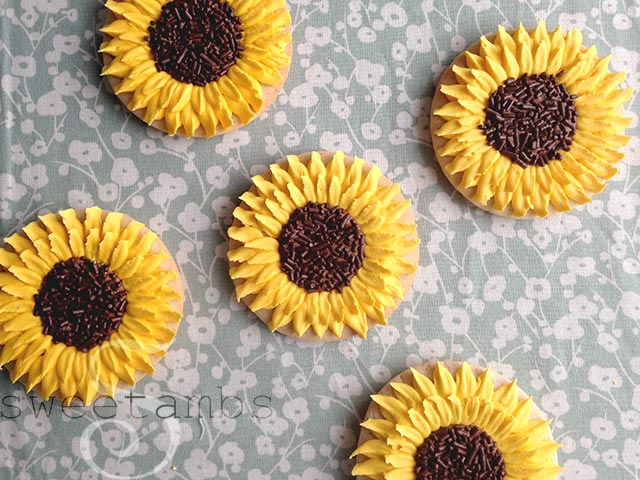 Sunflower-Cookies