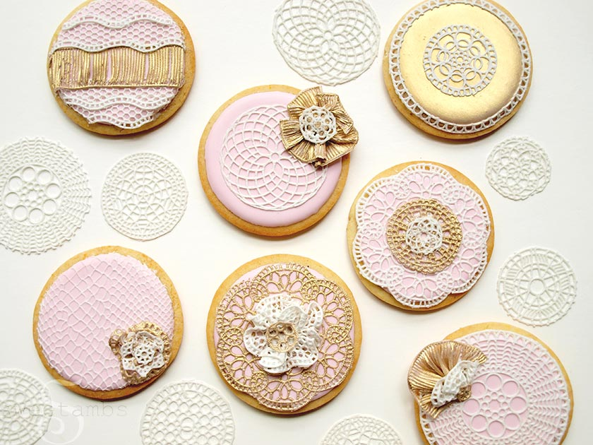 Sugarveil Edible Lace & Confectioners' Mat - YouTube