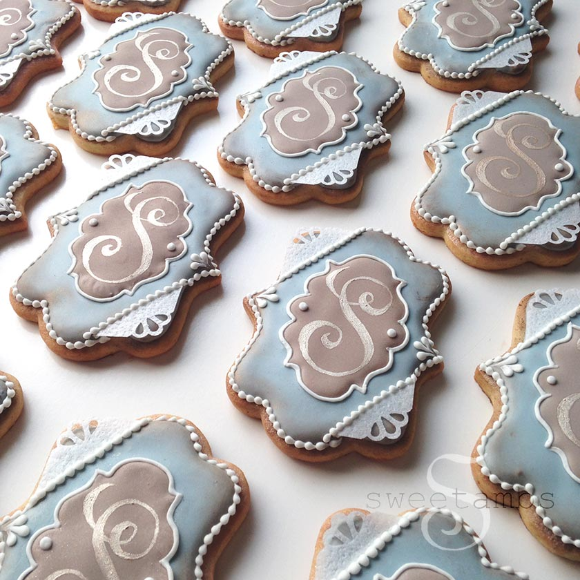 How To Make Wedding Cookies By SweetAmbsSweetAmbs