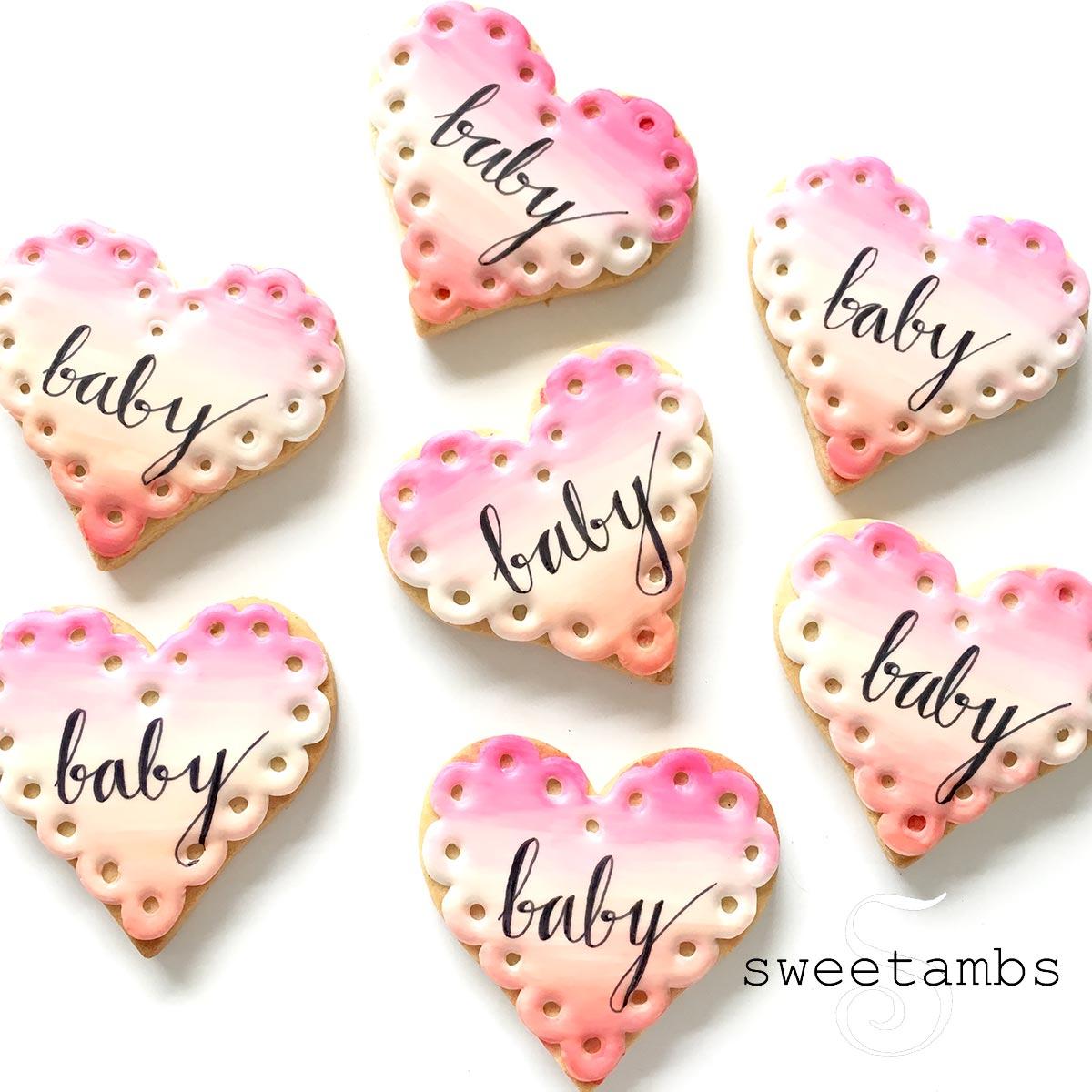 Watercolor-Baby-shower-cookies