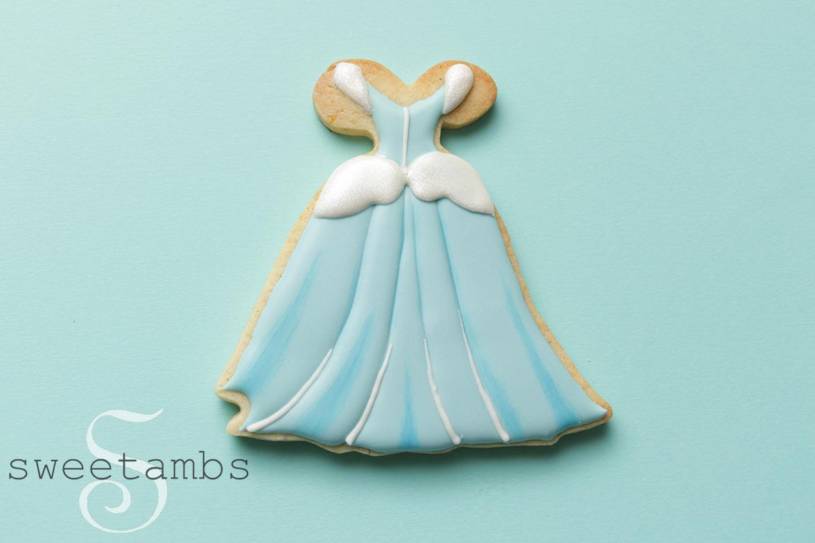 Princess Gown Cookies! - SweetAmbsSweetAmbs
