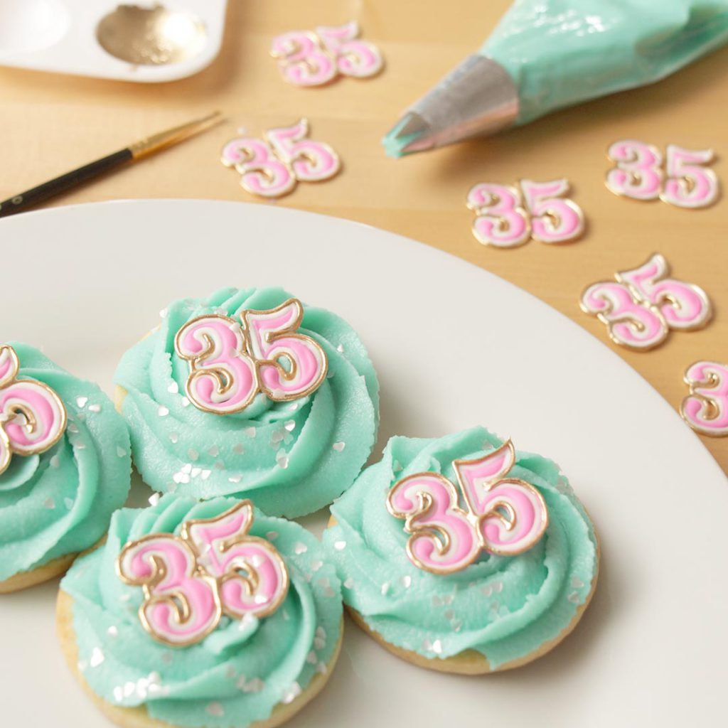 35th Birthday Cookies!