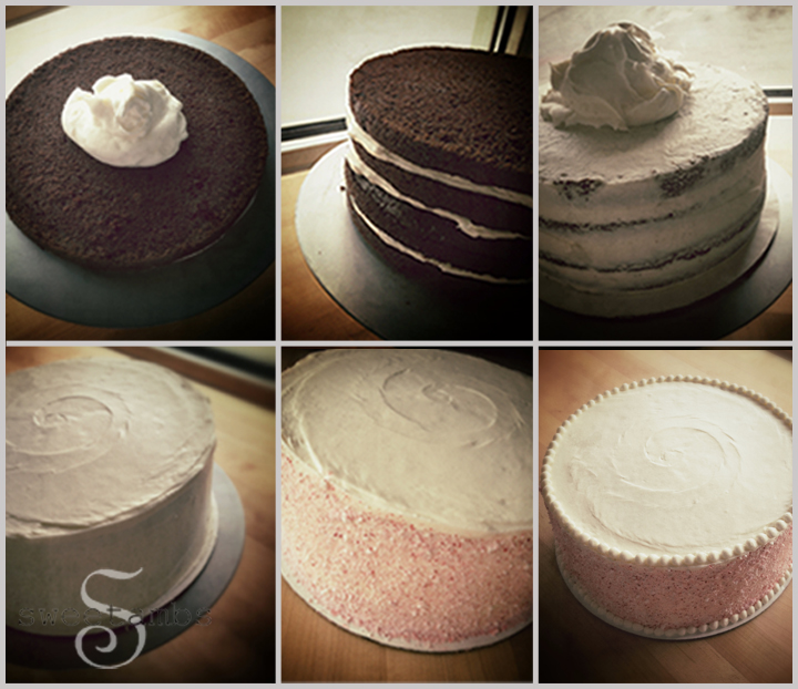Peppermint Chocolate CakeSweetAmbs