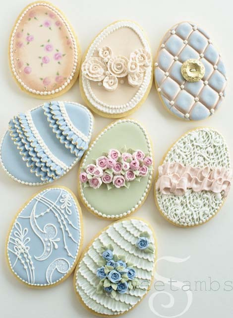 how to make champagne colored royal icing