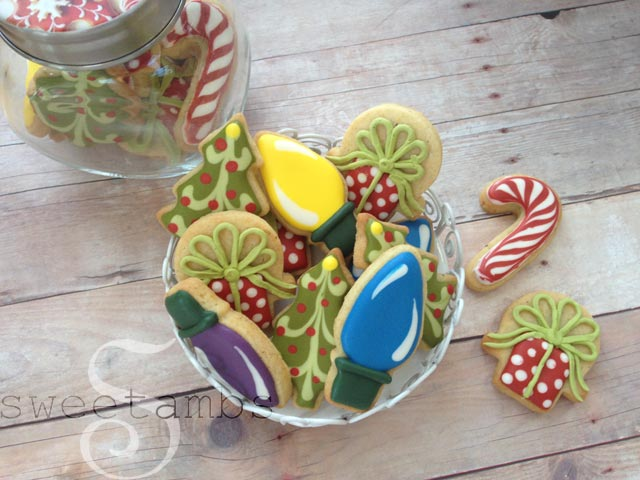 How To Decorate Mini Christmas Cookiessweetambs