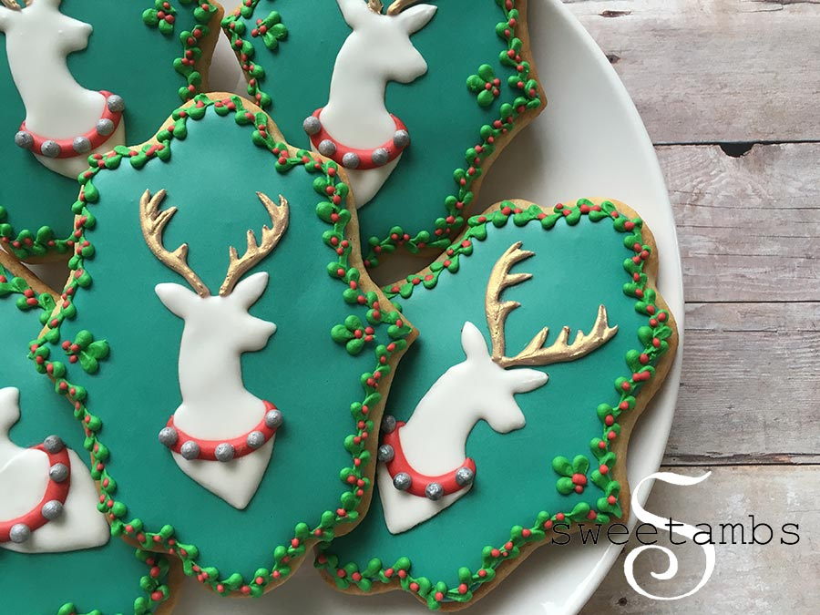 How To Decorate Reindeer Cookiessweetambs