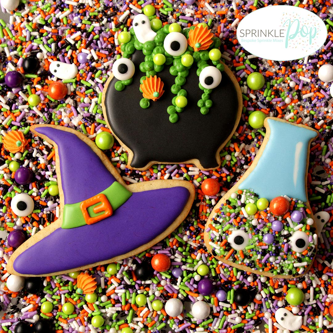 Halloween Cookies With SprinklePop Sprinkles ...