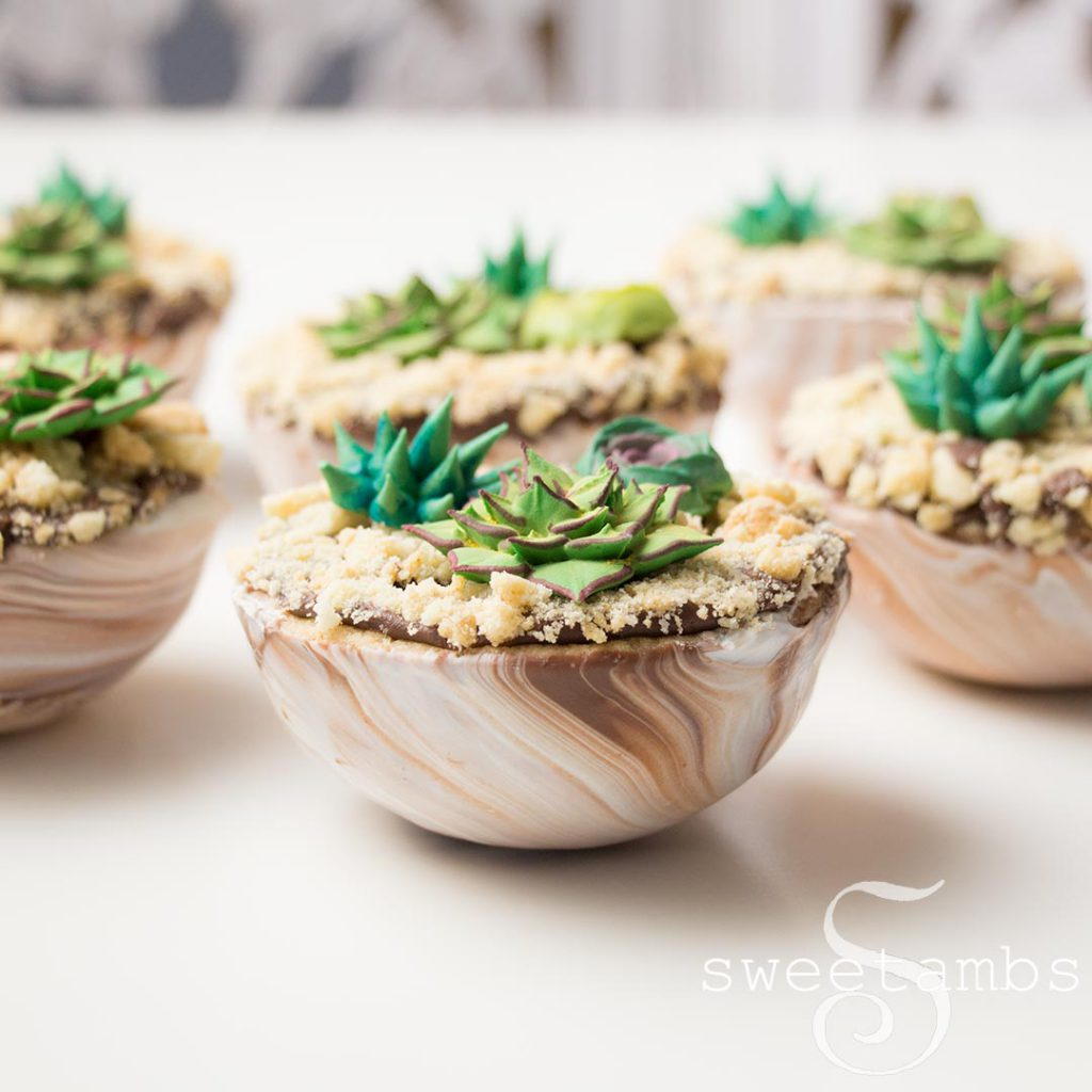 Royal Icing Succulents And Cookie Cup Tutorial Sweetambssweetambs
