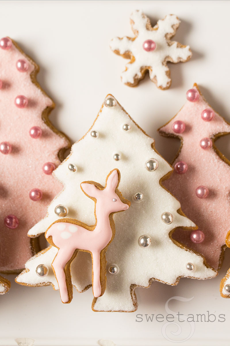 Pink Winter Wonderland Cookies Collab With Haniela S