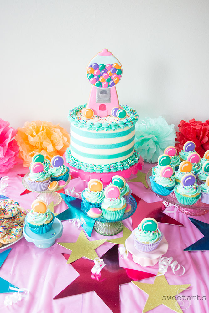 Sensational Gumball Machine Birthday Cake 7 Sweetambssweetambs Funny Birthday Cards Online Alyptdamsfinfo